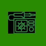 ikona výroby